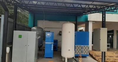 La Nación / Con planta propia de oxígeno en IPS de Benjamín Aceval garantizan provisión