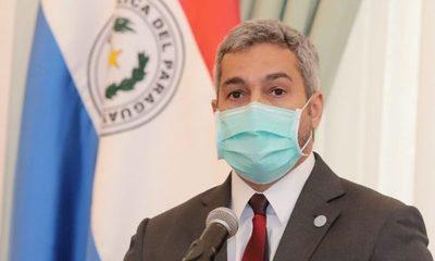 Mario Abdo asegura que junio será el mes con mayor cantidad de vacunas recibidas