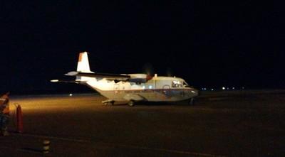 De nuevo se tuvo que enviar vía aérea balones de oxígeno a Concepción