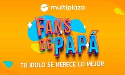 En Multiplaza somos fans de papá, por eso ¡queremos sorprenderlo!