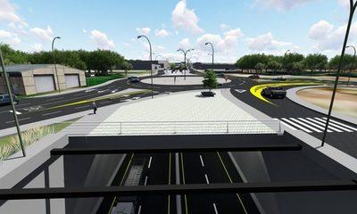 Obras en Tres Bocas: no se interrumpirá el tránsito pesado en Acceso Sur