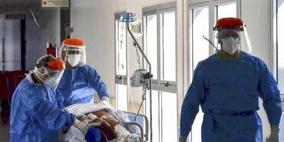 El Covid ya es la primera causa de muerte en el país