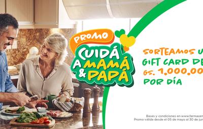 """Promo """"Cuidá a Mamá y Papá"""": Farmacenter ya tiene a los ganadores de mayo"""