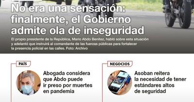 La Nación / LN PM: Las noticias más relevantes de la siesta del 8 de junio