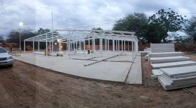 Avanza construcción de pabellón de contingencia en el Chaco