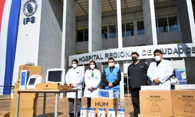 Itaipu entrega nuevo lote de equipos e insumos al Integrado