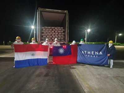 Athena Foods envía el primer cargamento de menudencias a Taiwán