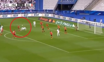 Griezmann se manda un golazo de chilena
