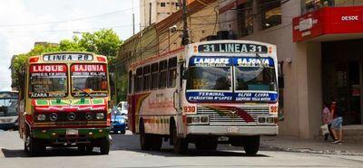 Anuncian paro del transporte público desde este lunes