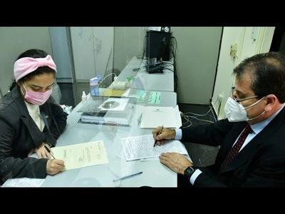 EBY entregó nuevo paquete de documentos a la Contraloría