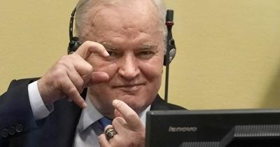 La Nación / Ratifica cadena perpetua para Mladic, el Carnicero de los Balcanes