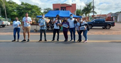 La Nación / Guajayvi: jóvenes juntaron más de G. 60 millones para comprar balones de oxígeno