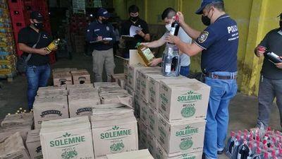 Incautan más de 1.000 litros de aceite de presunto contrabando