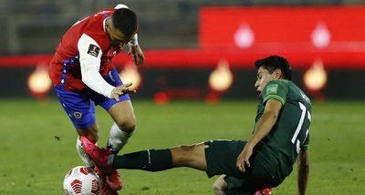 Chile se queda con las ganas ante Bolivia y sigue frenada en las Eliminatorias