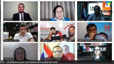 Ulises Quintana NO participo en DEBATE de intendentables COLORADOS