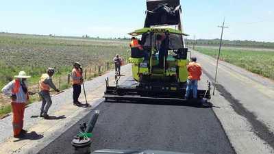 Ruta de la Caña en su recta final con 92% de avance en sus obras