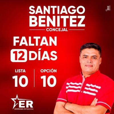 INTERNAS MUNICIPALES 2021: El comunicador Santiago Benítez presenta su pre candidatura a Concejal Municipal