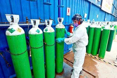 Déficit diario de oxígeno asciende a 80 toneladas