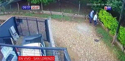 Roban casa de retiro religioso en San Lorenzo