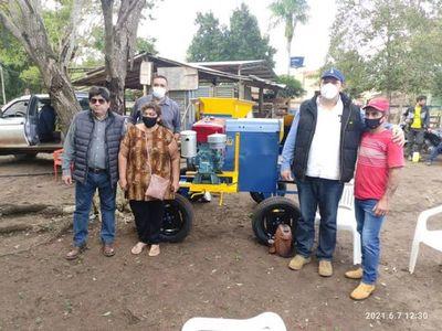 Trece nuevas familias productoras en el nuevo municipio de Cerro Corá