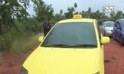 Ypané: Roban a taxista y lo encierran en la valijera