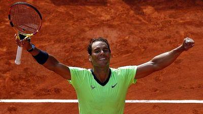 Nadal avanza a semifinales de Roland Garros
