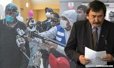 Trabajadores de prensa exigen ser vacunados