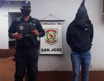 Delincuente liberado por fiscal Sergio Irán Villalba vuelve a ser detenido por orden de juez