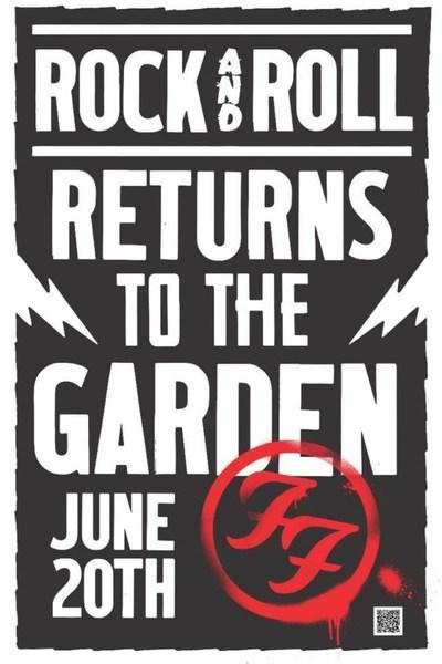 Foo Fighters hará historia en el Madison Square Garden