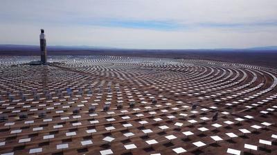 ¡La primera en América Latina! Chile estrena planta de energía termosolar