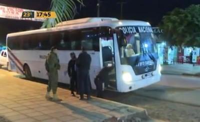 Caaguazú: Trasladan a detenidos tras desalojo