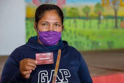 Caaguazú: Familias de Tekoporã serán bancarizadas esta semana con la entrega de tarjetas de débito del BNF