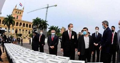 La Nación / Critican exhibición en Palacio de Gobierno