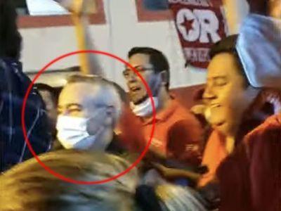 """Galeano Grassi exige procesar a Daniel Centurión o que lo """"dejen de joder"""" a él"""