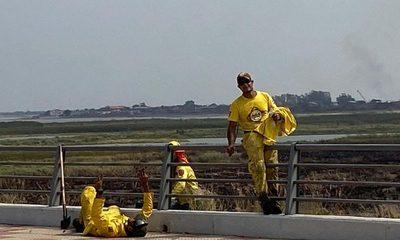 Postergan estudio de ley que dignifica labor de bomberos voluntarios