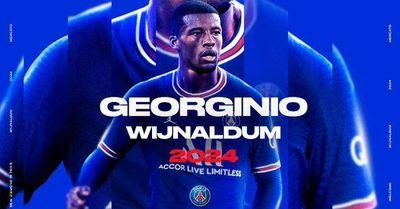 Oficial: Georginio Wijnaldum, refuerzo del París Saint-Germain