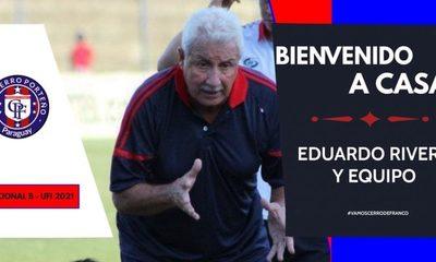 Cerro de Franco confirma a Eduardo Rivera de cara al Nacional B