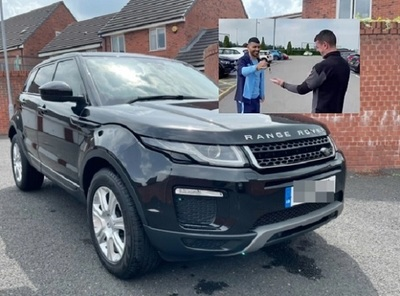 Utilero pone en venta en eBay la Range Rover del sorteo de Agüero