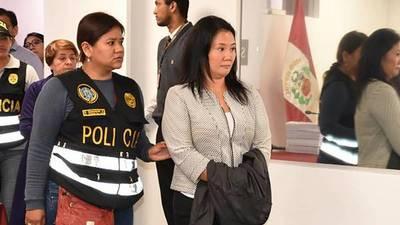 Perú: fiscal pide prisión preventiva contra Keiko Fujimori