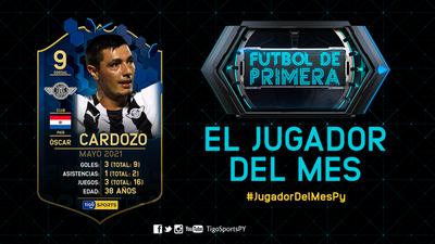 Tacuara Cardozo, el mejor jugador de mayo