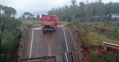 La Nación / Senado aprueba pedido de informe al MOPC sobre puente caído