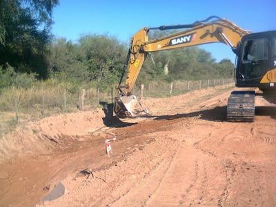 Futuro asfaltado del tramo Filadelfia- Loma Plata progresa con 26,73% de ejecución