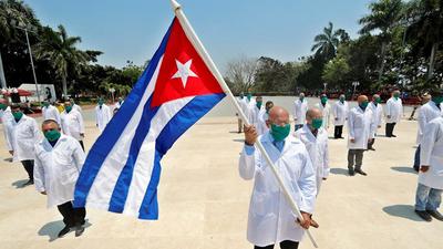 MEDICOS CUBANOS: Esclavitud moderna según el parlamento europeo