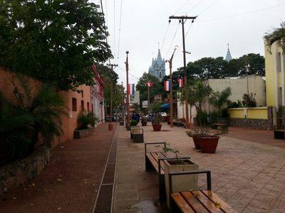 Feria Jetopa en la peatonal
