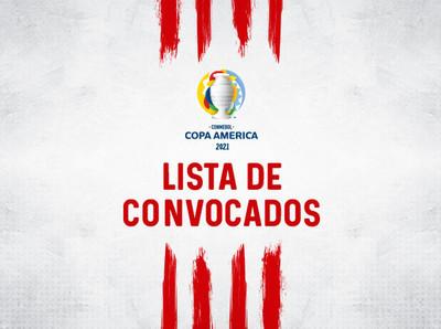 Los convocados para la Conmebol Copa América 2021