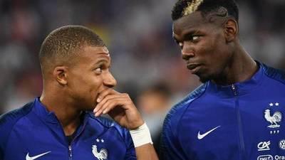 Paul Pogba niega tensiones entre Giroud y Mbappé