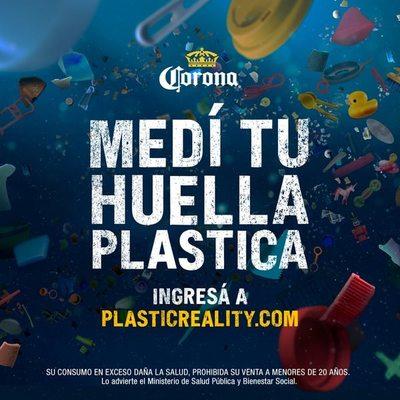 Corona logra una huella de plástico neta cero a nivel mundial