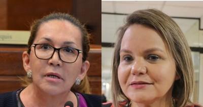 La Nación / Zulma Gómez delata intención de Lilian Samaniego para la mesa directiva del Senado