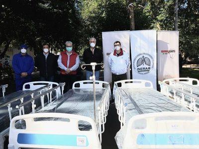 Brangus Paraguay realizó donación en equipamientos para hospitales de contingencia