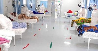 La Nación / Hospital Nacional, con un 90% de ocupación en UTI
